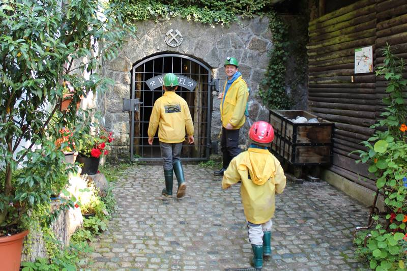Eingang zur Grube Wenzel in Oberwolfach