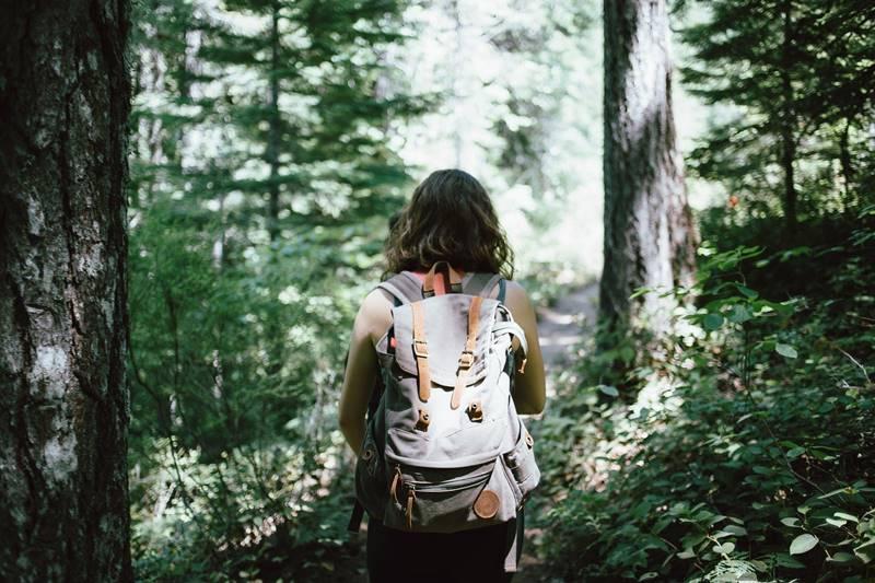 Wanderin durch den Schwarzwald