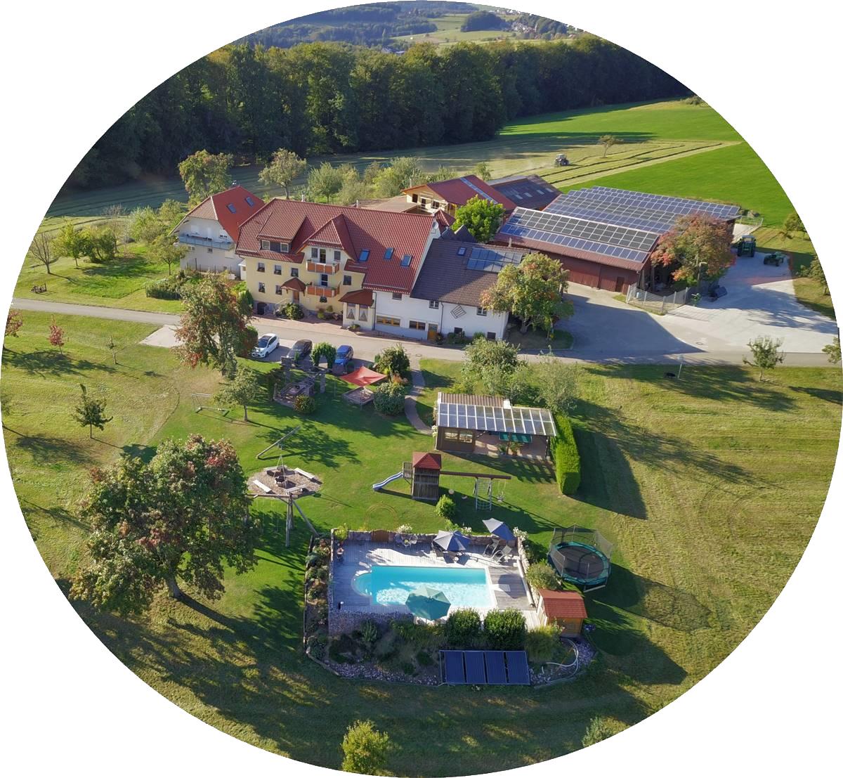 Ferienhaus Bührer mit Spielplatz, Grillhaus und Außenpool